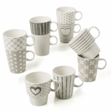 MUG TANDEM NEW BONE CHINA