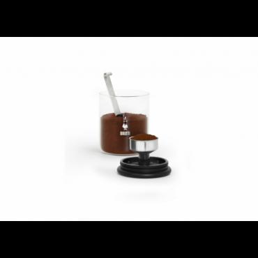 Barattolo caffè con cucchiaio