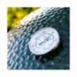 BIG GREEN EGG BARBECUE SMALL IN CERAMICA - CM 33 + SUPPORTO